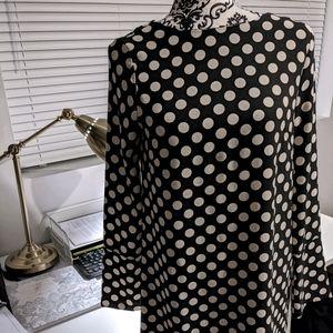 🔥3/$30🔥H&M Polka dot shift dress - sz 4